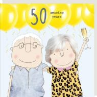 Rosie Made a Thing '50 Amazing Years' Card